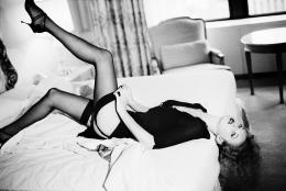 Kate Moss, Beauty Story, 1994, Silver Geltatin Photograh