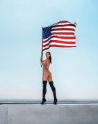 ALESSANDRA FLAG 4TH OF JULY 2016,