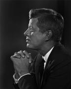 John Kennedy, 1960, 20 x 16 Silver Gelatin Photograph