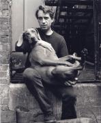 William Wegman, New York City, 1986, 10 x 8 Silver Gelatin Photograph