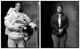 Astronaut / Alien Abductee, 2003 / 2005, 20 x 32-1/2 Diptych, Archival Pigment Print, Ed. 20