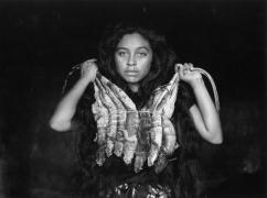La mujer (The Woman), Juchitan, Mexico, 1987, 11 x 14 Silver Gelatin Photograph