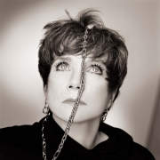 Shirley MacLaine, Chain, Los Angeles, 1985, Archival Pigment Print