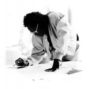 Miles Davis, Malibu, 1989, 11 x 14 Silver Gelatin Photograph