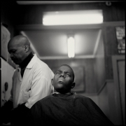 Barbershop, Harlem, 1993 (Plate 62), Combined Edition of 15 Photographs: