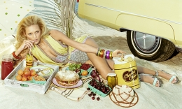 Trunk Food #5, 2007, 36 x 60 Inches, Chromogenic Print, Edition of 6