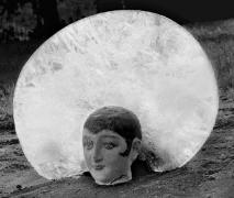 Reina del Invierno, 11 x 14 Silver Gelatin Photograph