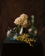 Italian Glass with Grapes, 2007, 36-1/2 x 30-1/4 Color Archival Pigment Print, Ed. 10
