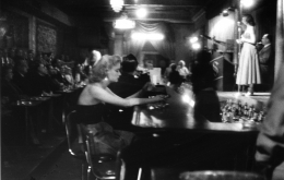 Woman at the Bar, Bourbon St.,New Orleans, 1955, Silver Gelatin Photograph