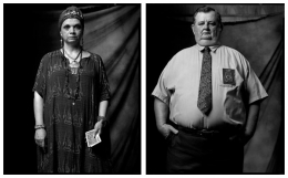 Fortune Teller / Executioner, 2007 / 2002, 20 x 32-1/2 Diptych, Archival Pigment Print, Ed. 20