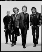 The Rolling Stones, New York, NY, 2005, 20 x 16 inches, Silver Gelatin Photograph, Ed. of 25