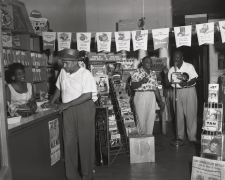 A Memphis record store in the Summer, 1954, Archival Pigment Print