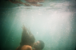 Lovers, Pacific Ocean, 2009, Archival Pigment Photograph, 26 3/4 x 40 inches, Ed. of 5