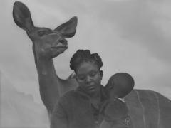 Moraa and son and Frida, Kenya, 2020