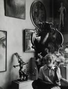 Max Ernst, New York, 1942, Silver Gelatin Photograph