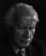 Carl Jung, 1958, 20 x 16 Silver Gelatin Photograph