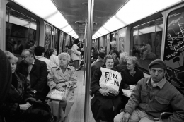 Fun, Fun, Montreal, 1987, Silver Gelatin Photograph