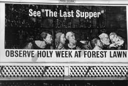 Forest Lawn Last Supper (Later Print made in Artist's lifetime), 1964