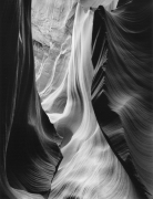 Wall with Two Ridges, Lower Antelope Canyon, 1983, Silver Gelatin Photograph