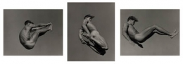 Bruce Weber, Ric, Point Conception, California (triptych), 1989