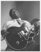 B.B. King, Nashville, 1990 (51112-6-7), Silver Gelatin Photograph