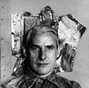 Willem de Kooning, 1959, Silver Gelatin Photograph Mounted to Board