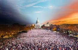 Presidential Inauguration, Washington, DC, 2013, C-Type Print