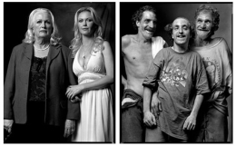 Matchmaker with Client / Inbred Brothers, 2007 / 2004, 20 x 32-1/2 Diptych, Archival Pigment Print, Ed. 20