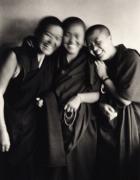 """Three Nuns"", India, 1996, 15-1/2 x 11-3/4 Platinum Photograph, Ed. 25"