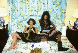 Christy Turlington & Naomi Campbell, New Orleans, 1991