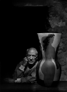Pablo Picasso, 1954, 20 x 16 Silver Gelatin Photograph