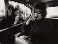Bob Dylan, (Fans Looking in Limousine), London, England, 1966, 11 x 14 Silver Gelatin Photograph