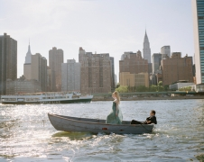 Edythe and Andrew in Boat, New York, New York, 2008, Archive Number: NYM-0608-093-09, 16 x 20 Archival Pigment Print