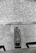 """(Woman Laying at Pool), """"Women are Beautiful,"""" n.d., 14 x 11 Silver Gelatin Photograph"""