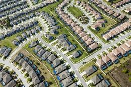 A planned community in Orlando, Florida, 2011