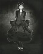 Audrey, Paris, 1998, Archival Pigment Print