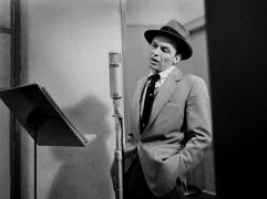 Frank Sinatra, New York City, 1956, 11 x 14 Silver Gelatin Photograph