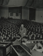 Bob Hope and Audience, n.d., 14 x 11 Silver Gelatin Photograph