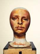 Da Vinci, The Last Supper (Jesus Christ), Pageant Makeup Template, 2016, Archival Pigment Print