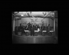 The Rocketeers at the Beale Street Auditorium, ca. 1950's, Archival Pigment Print