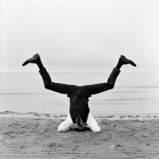 Reed Upside Down, Sherwood Island, Connecticut, 2007, Archive Number: NYM-0707-003-07, 16 x 20 Silver Gelatin Photograph