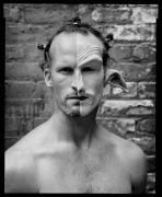 Matthew Barney, New York, NY, 2004, 20 x 16 inches, Silver Gelatin Photograph, Ed. of 25