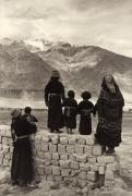 The Mud Wall, Zanskar, 1988, 20 x 16 Platinum Photograph, Ed. 25
