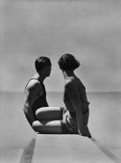 The Divers, Paris, 1930, 18 x 13-7/8 Silver Gelatin Photograph on 20 x 16 Paper