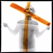 Bert Stern - Marilyn Monroe, crucifix II (1962), 2014