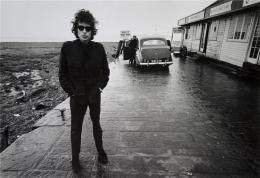 Bob Dylan (At The Aust-Ferry), Aust, England, 1966, 11 x 14 Silver Gelatin Photograph