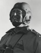 Gen. Patton, c. 1944, 14 x 11 Silver Gelatin Photograph