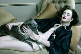 Dog Lady #4, 2009, Chromogenic Print
