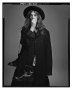 Patti Smith, New York, NY, 2007, 20 x 16 inches, Silver Gelatin Photograph, Ed. of 25