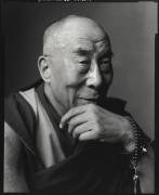Dalai Lama, Washington, D.C., 2011, 20 x 16 inches, Silver Gelatin Photograph, Ed. of 25